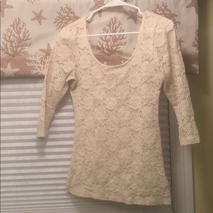 Urban Outfitters lace shirt